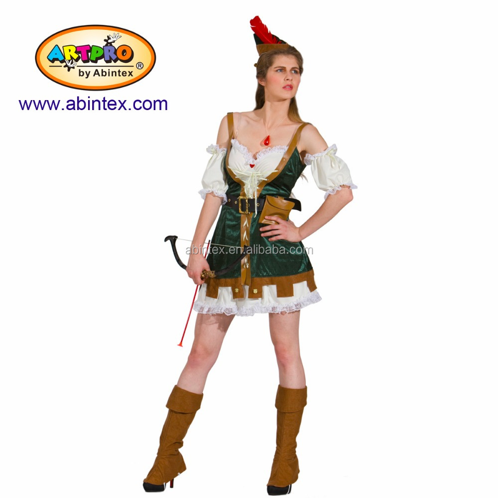 Sexy Robin Hood (11-212) as party costume for lady
