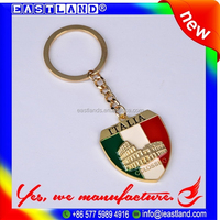 Smart Custom Promotion Globe Keychain