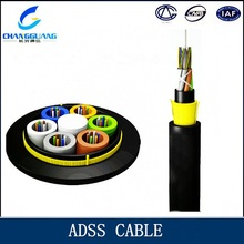 Buy direct from China factory Aerial All Dielectric Self support Aerial Fiber Optic Cable ADSS
