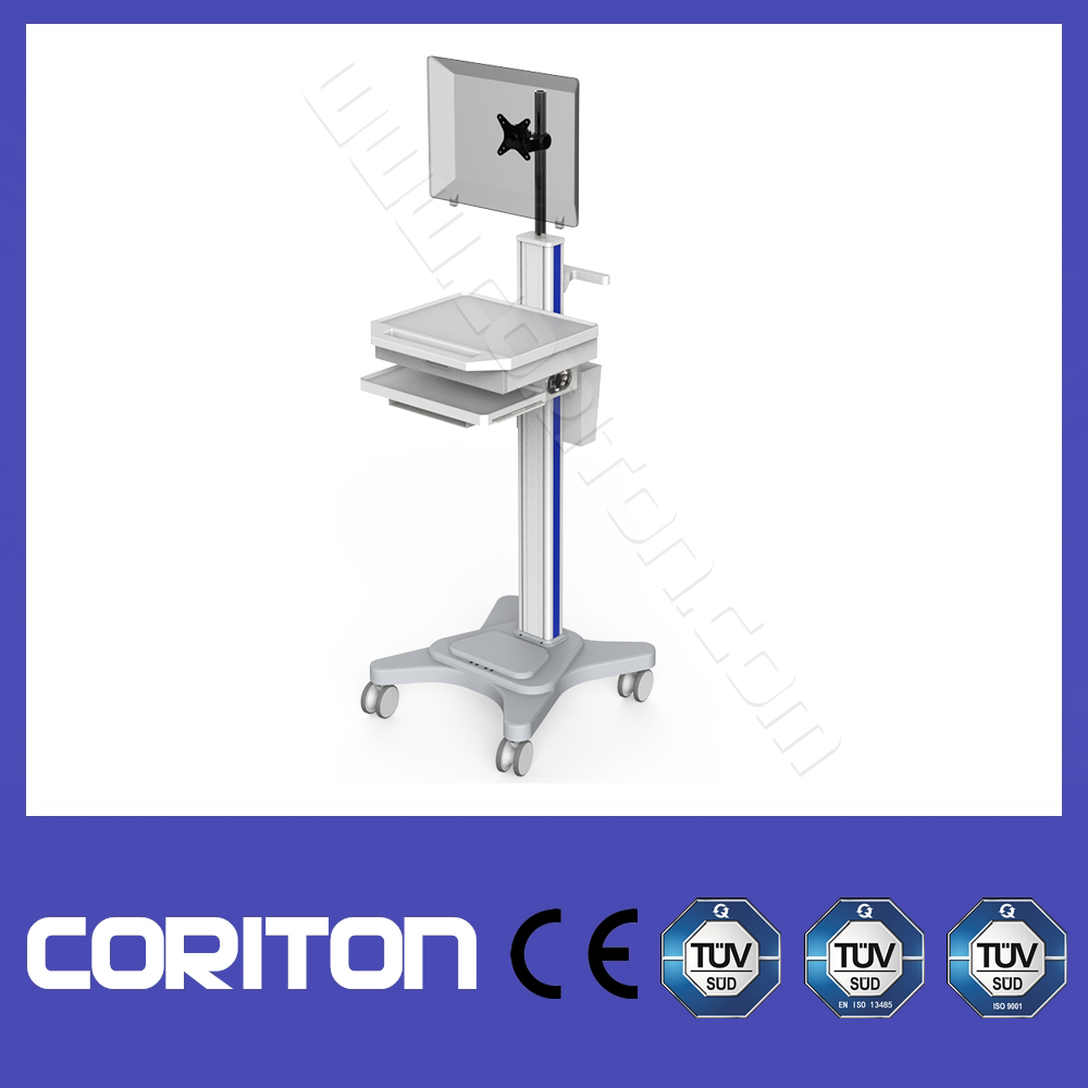 CE Approved Medical Workstation Cart/Trolley