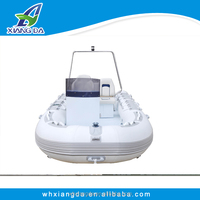 Hot Sells Aluminum hull inflatable boat