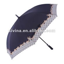 High quality promotional good price OEM&ODM strong frame political vote golf umbrella