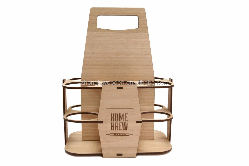 Home Brew Beer Carrier | Beer Caddy | 6 Pack Holder
