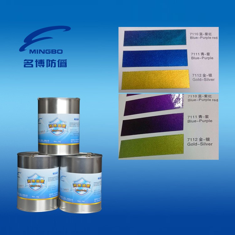 screen Optical varialble printing ink for anti-false printing OV7112 Gold-silver