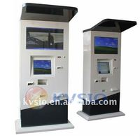 Outdoor Dual Screen Payment Kiosk With