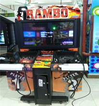 Mantong 2016 new design shooting acade game machine operated with coins