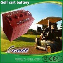 8V140AH(4-D-140) Electric golf cart battery for deep cycle application