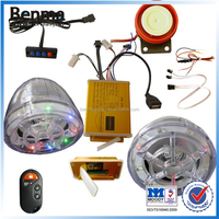Multi-function motorcycle anti-theft alarm system , security system with sound