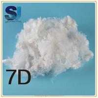 polyester fiber filling for recycled polyester staple fiber