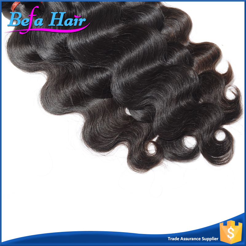 Befa Hair Double Layers Luxury Human Body Wave Raw Indian Temple Hair