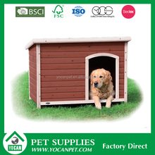 New Design Stocked painted wooden dog kennel