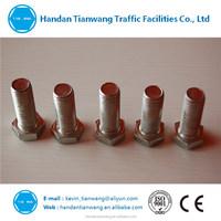 DIN 933 Hex bolt M6-M36 zinc plating carbon steel