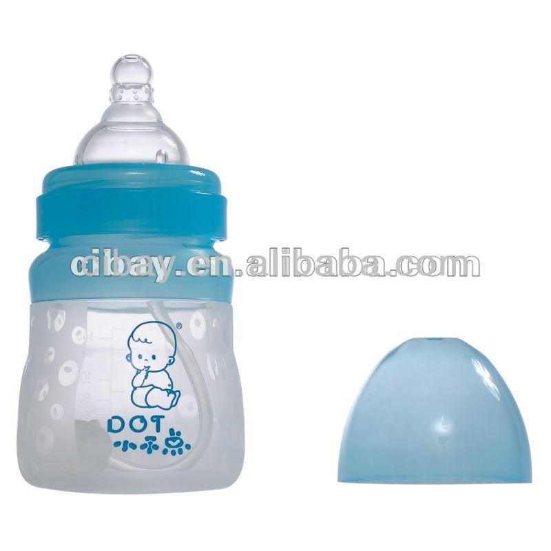 2013 new silicone baby feeding bottle
