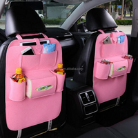 Car Seat Back Organizer Multi-Pocket Travel Storage Bag