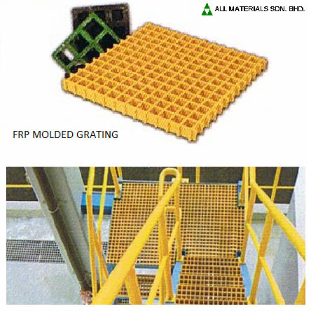 FRP Molded Grating Panel