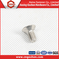 Stainless Steel DIN7991/ ASME B18.3 Hex socket CSK head screws