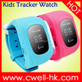 0.96 inch OLED hard screen smart baby watch q50 Kids GPS Watch Tracker Real-time tracking and monitoring SOS Button