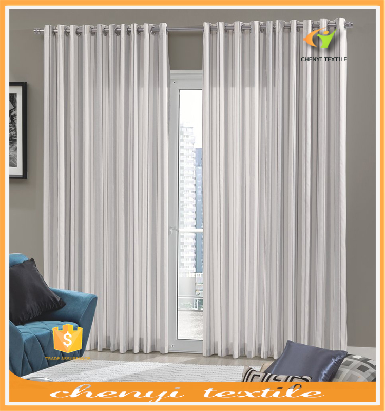 Factory sale new europe style sheer curtain for home in latest curtain design 2016