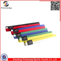 High quality courful martial arts taekwondo cinturones karate