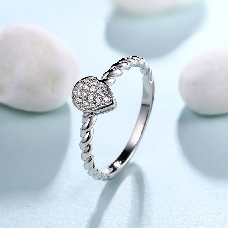 925 sterling silver smart ring silver jewelry ring