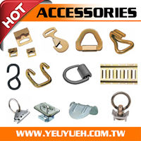 [EZ LOAD] Taiwan 1 Inch 25mm 1500LBS Ratchet Buckle Supplier for USA