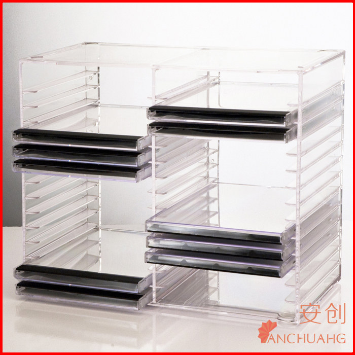 Acrylic Stackable CD holder 30 standard CD Jewel Cases