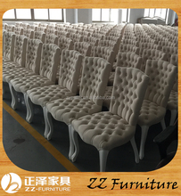 Wholesale High Back Button Tufted Restuarant Chair