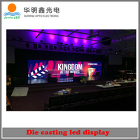 P1.6 P2 P3 P4 Full Color SMD concert led sign board,indoor hd mini led sign board Aluminum Cabinet