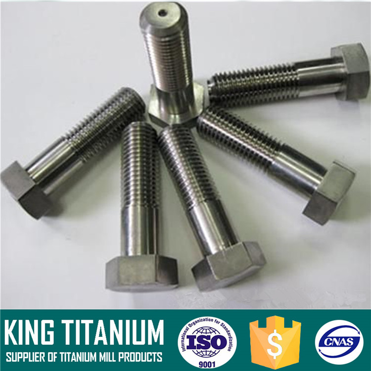 Factory Supply Best Quality DIN 912 M7 Titanium Hex Head Bolt