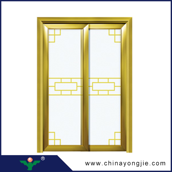 New style aluminum door decorative pictures aluminum for Windows and doors prices