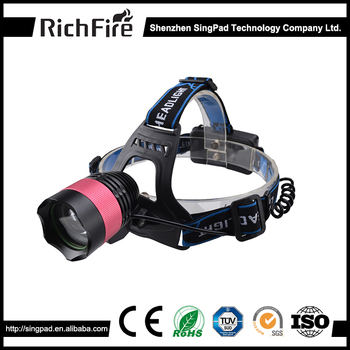 1000 lumen rechargeable waterproof headlamp led for camping