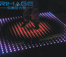 stage effect DMX control portable RGB led dance floor led starlit dance floor lights stage 3d led dance floor