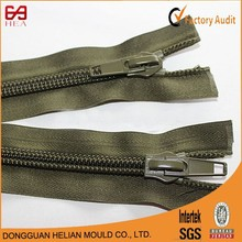 #5 or #7 close end 10inches fashion nylon zipper for shoes