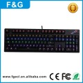 Best Price backlight wired RGB Gaming Programmable keyboard