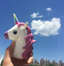 Hot New Emoji Unicorn Cartoon 2600mAh Portable Charger External Battery Power Bank for iphone 7 for samsung s7