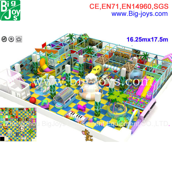 high quality indoor playground for sale, hot sale jungle children indoor playland