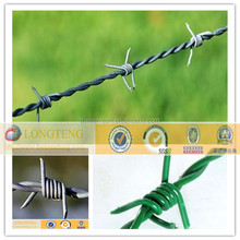 Barbed wire roll price fence/Wholesale bulk cattle fence