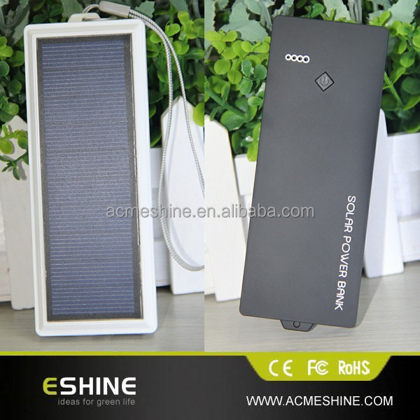 Solar power pack 2500mAh for smart phone (ESC-08)