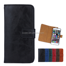 leather case with card slot for iphone 6s,mobile phone shell