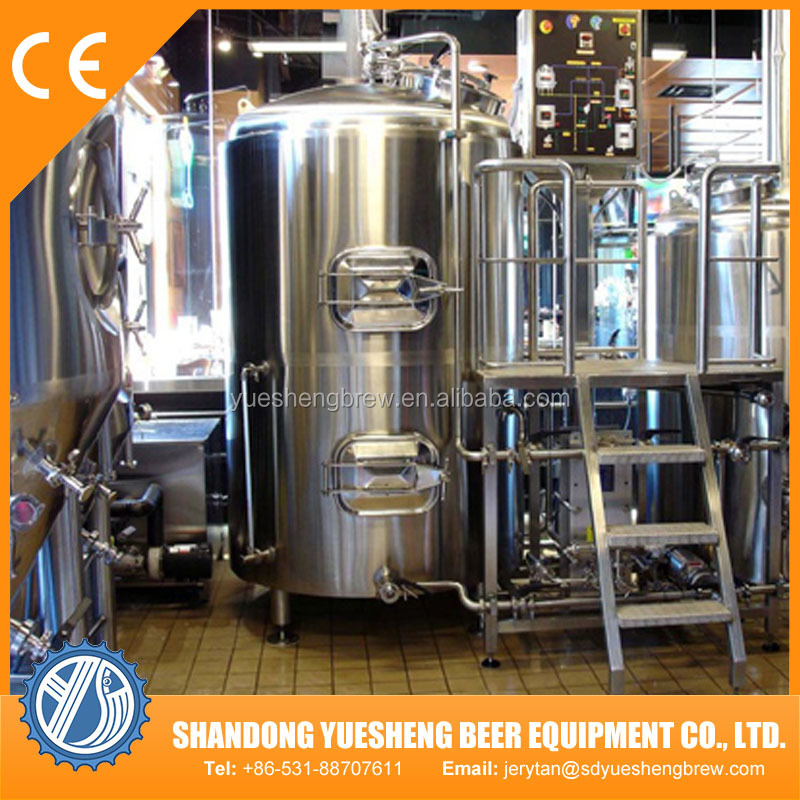 hotel beer brewing equipment electric brewery cooling equipment for beer sale