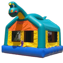 hot sale Dinosaur inflatable bouncer jumper/ jumping bouncy castle/ moon bounce house for party