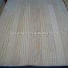 Radiata pine, southern yellow pine finger joint wood board