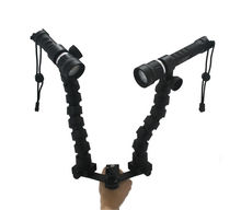 flex Arm components and Camera trays for underwater photography system.