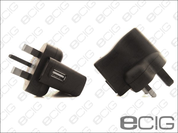 eCig USB Wall Charger 5V - 220V UK