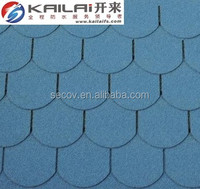 China high quality building material fish-scale asphalt roofing shingles