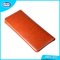 Alibaba Wholesale Leather Flip Cell Phone Case 5.5inch Wallet Pouch