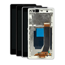 Cell Phone LCD Touch Screen Assembly for Sony Xperia Z L36H For Sony Z L36H Replacement LCD Display