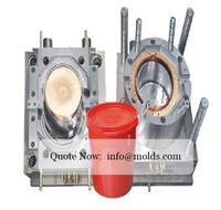 Used Plastic Injection Mold Water Bucket Mold