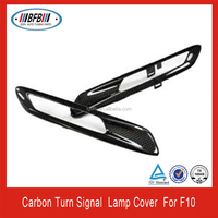 Carbon Fiber Side Grill Cover For BMW F10 5 Series 2013