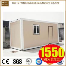portable cabins building a temporary wall